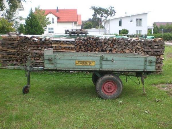 1 achs anh nger traktor anh nger kein kipper stockburger in schlaitdorf anh nger auflieger. Black Bedroom Furniture Sets. Home Design Ideas