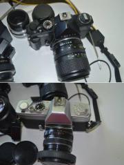 2 Analog Spiegelreflexkameras