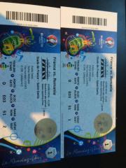 2 Eintrittskarten EURO