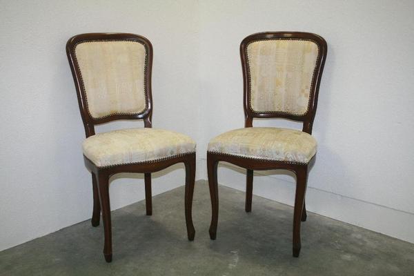 2 st hle vollholz stuhl esszimmer chippendale stil m bel italienischer barock in bergkirchen. Black Bedroom Furniture Sets. Home Design Ideas