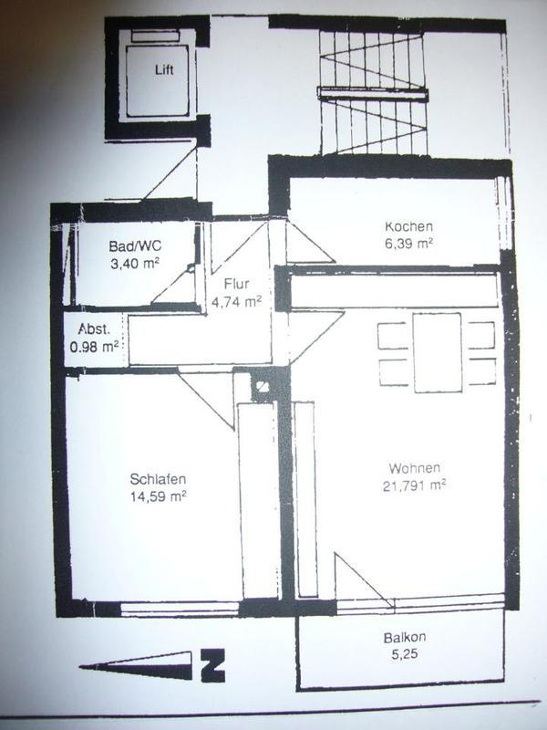 2 zkb ca 55 qm ludwigshafen friesenheim von privat for 55 qm wohnzimmer