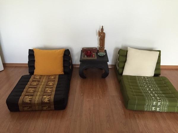 2x thaimatten klappmatratzen polster sessel couch aus darmstadt innenstadt. Black Bedroom Furniture Sets. Home Design Ideas