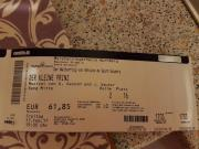 3 Eintrittskarten Der
