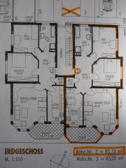 3-Zimmer-Erdgeschosswohnung