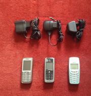3x Mobiltelefone