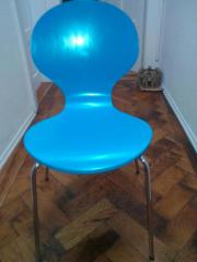 4 Echtholz-Stühle
