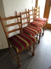4 Esszimmerstühle aus