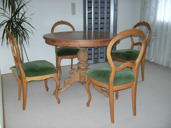 4 st hle im barock stil federkern in billigheim stilm bel bauernm bel kaufen und verkaufen. Black Bedroom Furniture Sets. Home Design Ideas