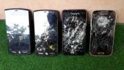 4x Smartphone Handys ((