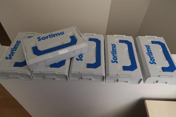 6 x Sortimo L-Boxx Mini, unbenutzt gebraucht kaufen  22851 Norderstedt