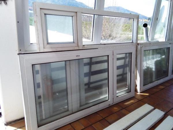 7 Fenster Kunststoffenster Mit Zubeh R Gebraucht Zu