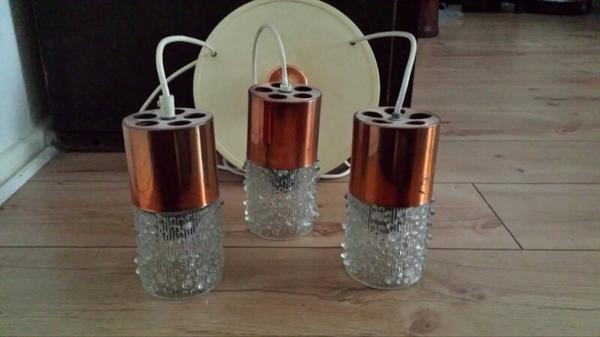 70er glas deckenlampe in berlin lampen kaufen und for Lampen 70er berlin