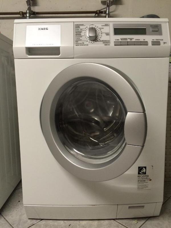 aeg lavamat turbo l16850a3 waschtrockner 7kg waschen 5kg trocknen in karlsruhe. Black Bedroom Furniture Sets. Home Design Ideas
