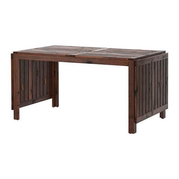 pplar klapptisch gartentisch wie neu in m nchen ikea m bel kaufen und verkaufen ber. Black Bedroom Furniture Sets. Home Design Ideas