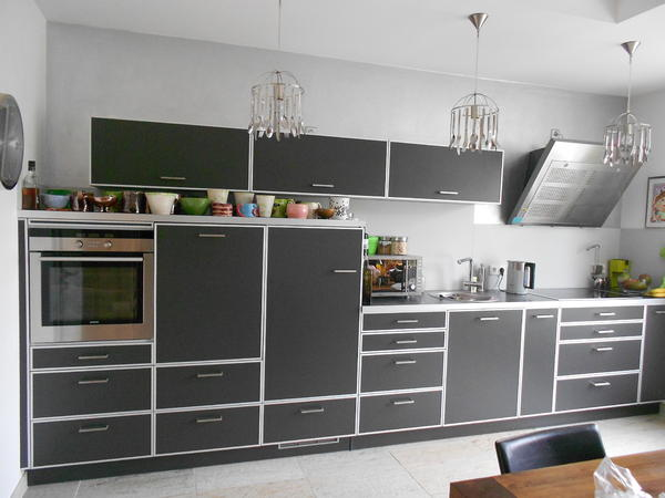 alno k che alnotec hochwertig fast wie neu np eur in karlsruhe k chenzeilen. Black Bedroom Furniture Sets. Home Design Ideas