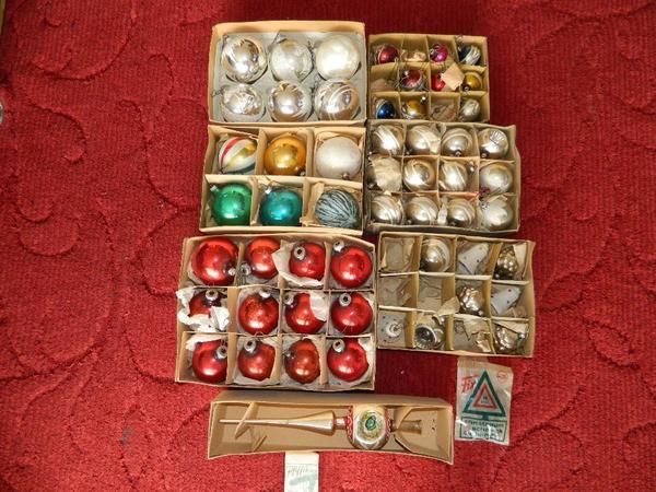 Alte weihnachtskugeln kaufen gebraucht und g nstig - Alte weihnachtsbaumkugeln ...