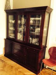 vitrine kolonialstil haushalt m bel gebraucht und. Black Bedroom Furniture Sets. Home Design Ideas