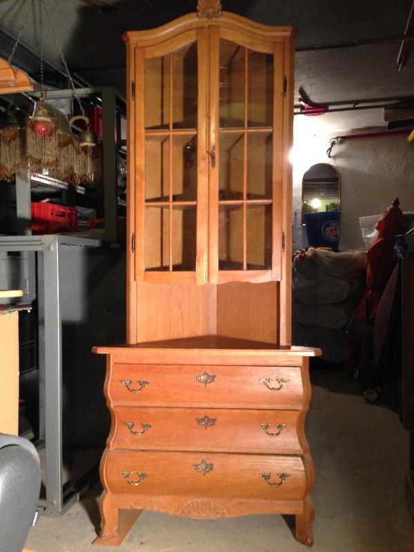 holz eckschrank neu und gebraucht kaufen bei. Black Bedroom Furniture Sets. Home Design Ideas