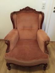 Antik Englische Sitzgarnitur