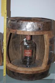 Antik Holzbar, Holzbierfass