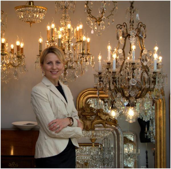 Antike Lampen Kaufen: Antike Französische Kristall Leuchten Und Französische