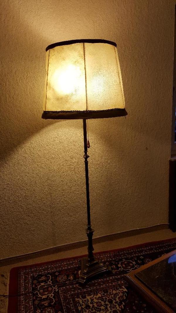 stehlampe antik gebraucht kaufen 2 st bis 70 g nstiger. Black Bedroom Furniture Sets. Home Design Ideas