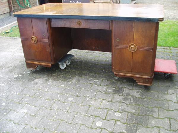 Schreibtisch massiv kleinanzeigen antiquit ten for Schreibtisch dunkelbraun massiv