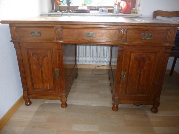 Schreibtisch antik neu und gebraucht kaufen bei for Antiker schreibtisch