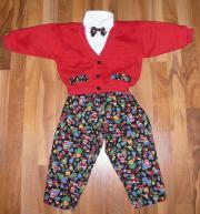 Anzug,weihnachtlich,4tlg.