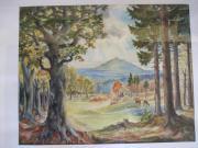 Aquarell Gemälde