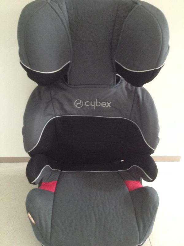 auto kindersitz cybex solution 15 36 kg gebraucht in. Black Bedroom Furniture Sets. Home Design Ideas