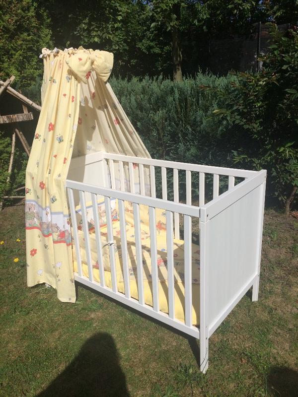 babybett ohne matratze in geesthacht wiegen babybetten reisebetten kaufen und verkaufen ber. Black Bedroom Furniture Sets. Home Design Ideas