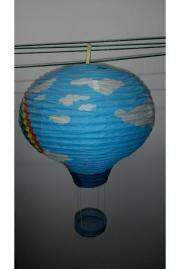 hei luftballon lampe kinderzimmerlampe wie tiffany in birkenau lampen kaufen und verkaufen. Black Bedroom Furniture Sets. Home Design Ideas