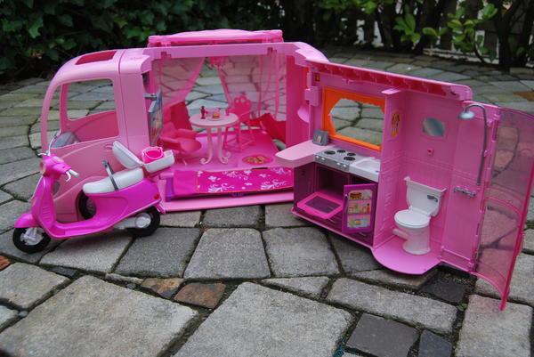 barbie wohnmobil neu und gebraucht kaufen bei. Black Bedroom Furniture Sets. Home Design Ideas