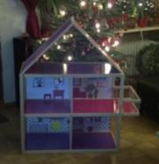 barbiehaus aus holz kinder baby spielzeug g nstige angebote finden. Black Bedroom Furniture Sets. Home Design Ideas