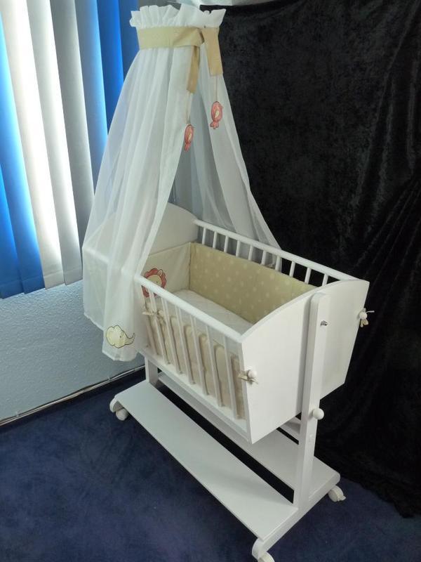 bauanleitung f r babywiege oder stubenwagen in ratingen wiegen babybetten reisebetten kaufen. Black Bedroom Furniture Sets. Home Design Ideas