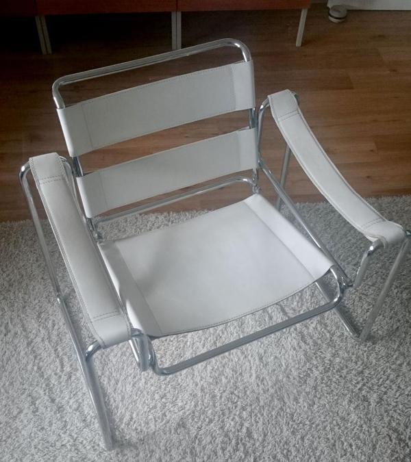 bauhaus sessel wassily marcel breuer in karlsruhe designerm bel klassiker kaufen und. Black Bedroom Furniture Sets. Home Design Ideas