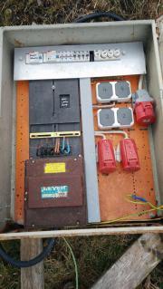Baustromkasten Baustrom Stromkasten