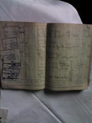 Bescheinigungsbuch von DB