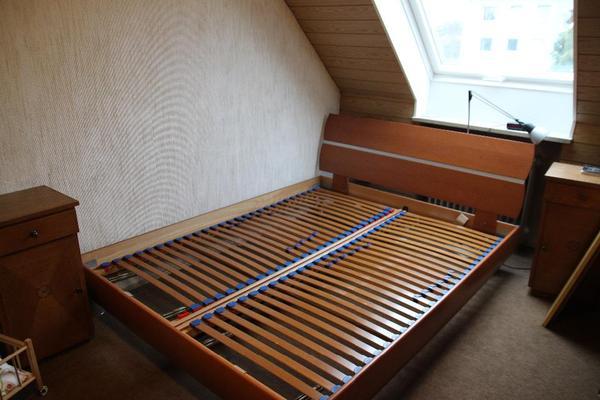bett h lsta bettgestell lattenrost 160x210 holzbett in. Black Bedroom Furniture Sets. Home Design Ideas