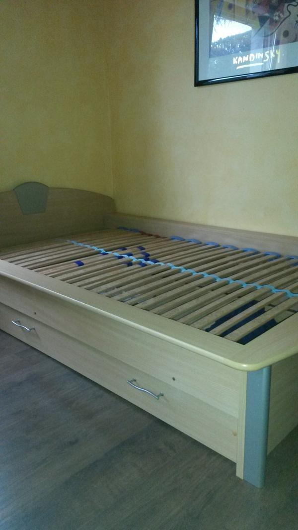 bett ausziehbar neu und gebraucht kaufen bei. Black Bedroom Furniture Sets. Home Design Ideas
