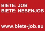 Biete: Job - Biete: