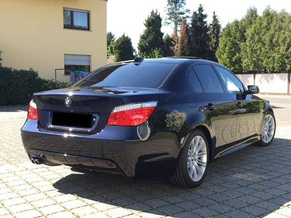 voiture bmw 530d e60 m paket 2009 limousine occasion de 2009 pour 17900. Black Bedroom Furniture Sets. Home Design Ideas