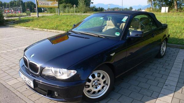 bmw e46 cabrio diesel blau metallic in grabenst tt bmw. Black Bedroom Furniture Sets. Home Design Ideas