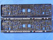 BMW Kennzeichen Rahmen