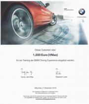 BMW Wert-Gutschein