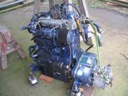 Bootsmotor mit Getriebe