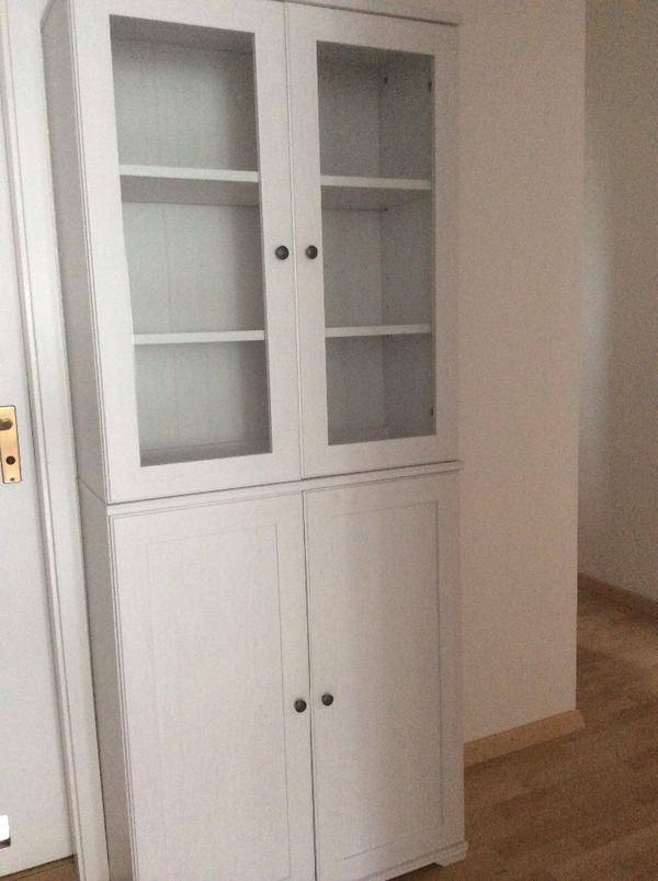 borgsj vitrienenschrank wei in m nchen ikea m bel kaufen und verkaufen ber private. Black Bedroom Furniture Sets. Home Design Ideas