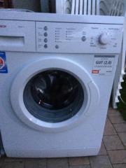 Bosch Waschmaschine voll