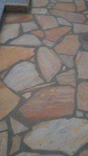 Brasilianischer Goldquarzit Polygonalplatten